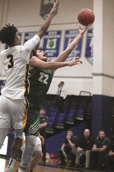 PMG PHOTO: PHIL HAWKINS - Jimenez and the Huskies had high hopes of returning to the state basketball championship game for the first time since 2014 before the spread of COVID-19 forced the OSAA to cancel the state playoffs the day the quarterfinals were scheduled to start.