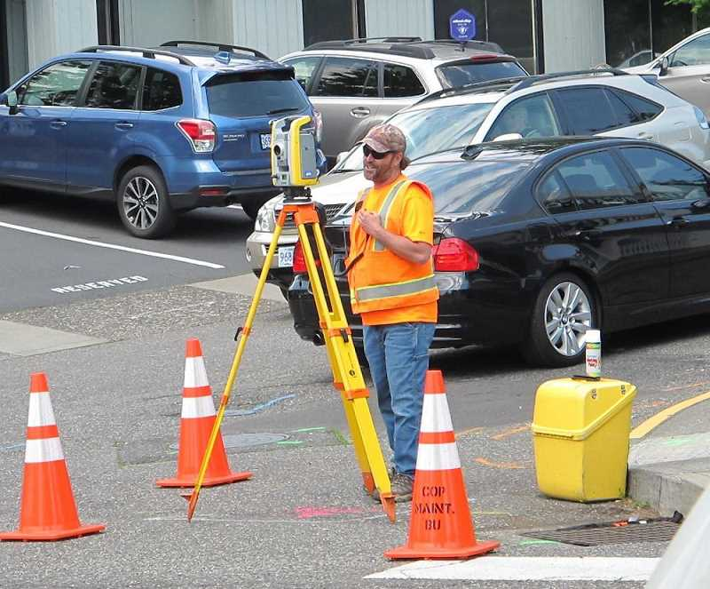 Before the coronavirus crisis, crews were planning to work at night to minimize the disruption in Multnomah Village. The current plan is for daytime work with the possibility of some night and weekend work.