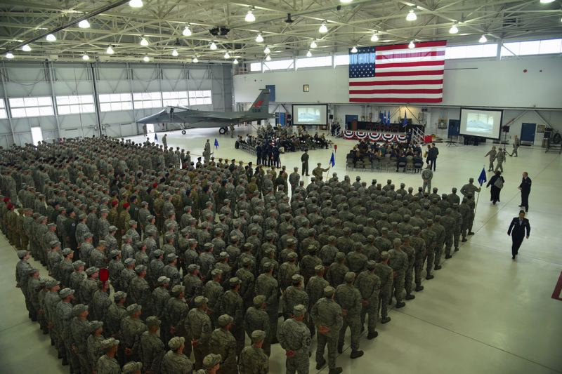 COURTESY PHOTO: 142ND WING - The 142nd Wing of the Oregon Air National Guard has received a new name, to go along with an enhanced mission.