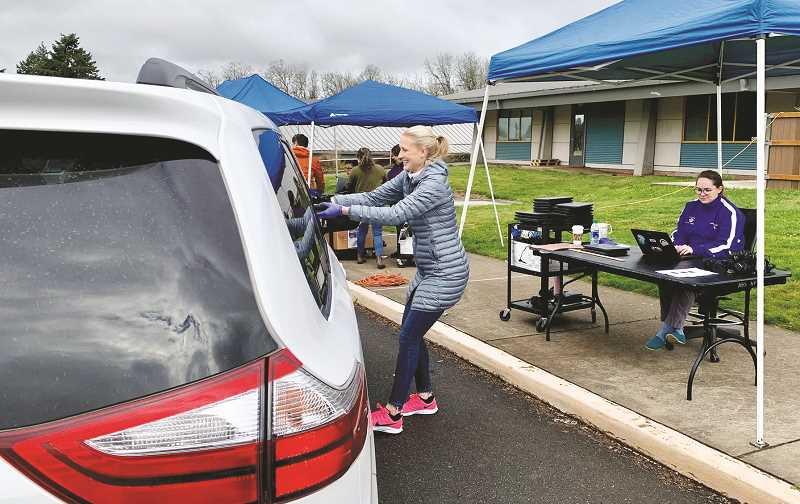 PHOTO COURTESY OF NEWBERG SCHOOL DISTRICT - Student from kindergarten through 12th grade in the Newberg school district will learn online learning protocols and some will receive Chromebooks in order to make that happen.