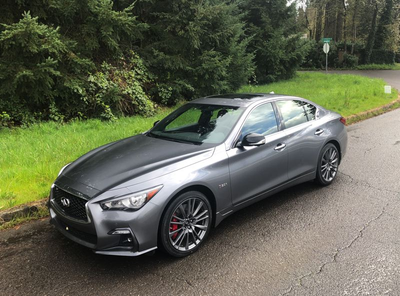 PMG PHOTO: JEFF ZURSCHMEIDE - The 2020 Infiniti Q50 is everything a genuine sport sedan should be — stylish, luxurious and fast.