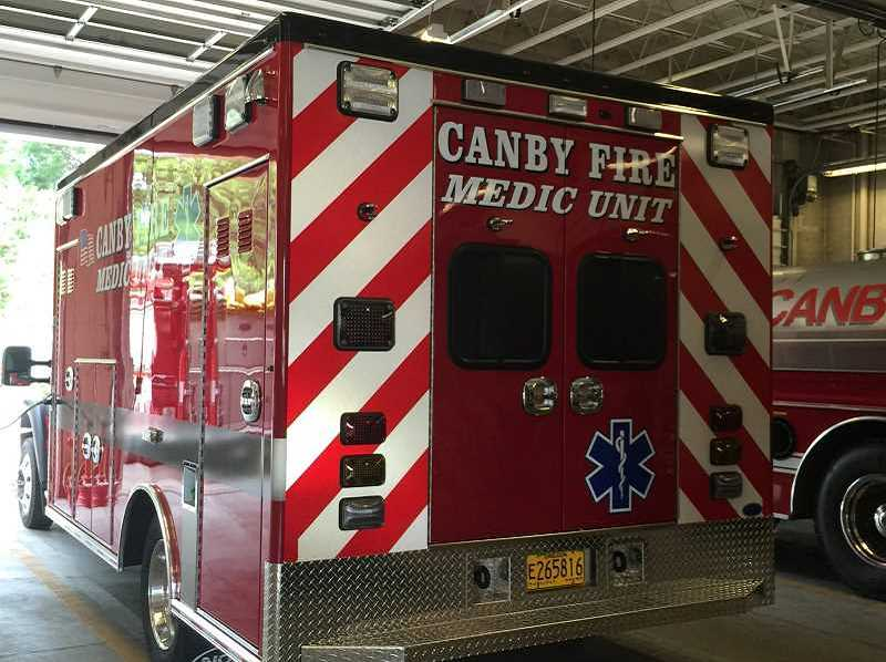 PMG FILE PHOTO - Canby Fire is experiencing increasing calls for symptoms consistent with COVID-19.