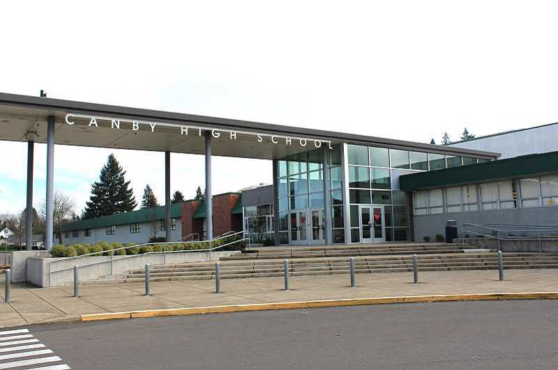 PMG FILE PHOTO: KRISTEN WOHLERS - Among the projects to be included in the bond is a rebuild of Canby High School's science wing.