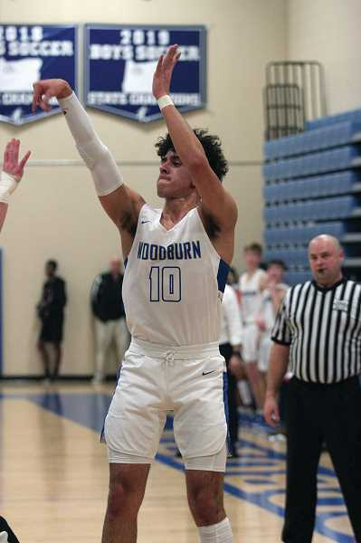 PMG PHOTO: PHIL HAWKINS - Marroquin averaged 11.2 points, 5.2 assists and 2.4 steals for the Bulldogs, who finished third in the Oregon West Conference behind Philomath and Cascade.