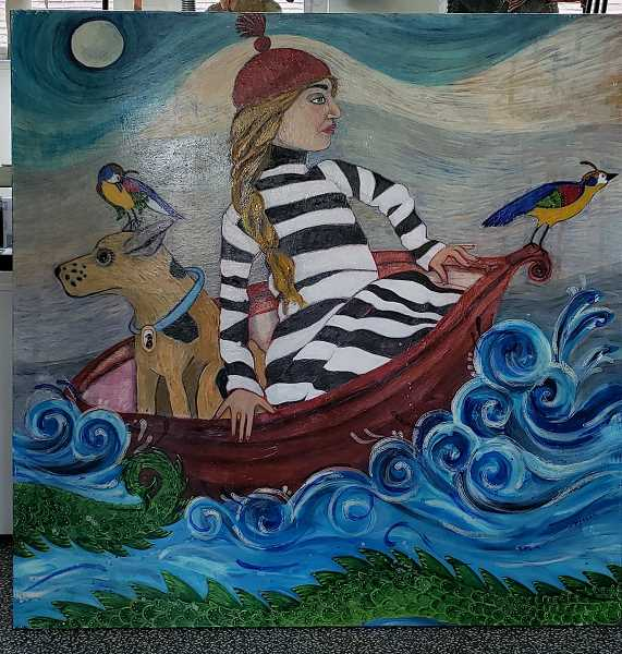 COURTESY PHOTOS  - Marcia Jeglum's art is colorful and whimsical. View more of it online at lakeareaartists.com.