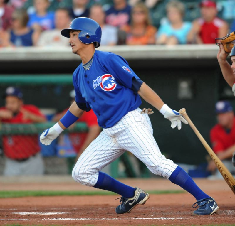 COURTESY PHOTO: CHICAGO CUBS - Darwin Barney played eight years in the major leagues, starting with the Chicago Cubs. He has been hired as manager of Triple-A Nashville Sounds.