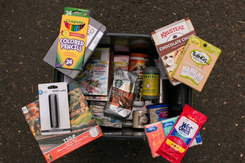 COURTESY PHOTO: EVERY CHILD -  Oregonians can sign up to put together a 'flash box' for a foster family in need.