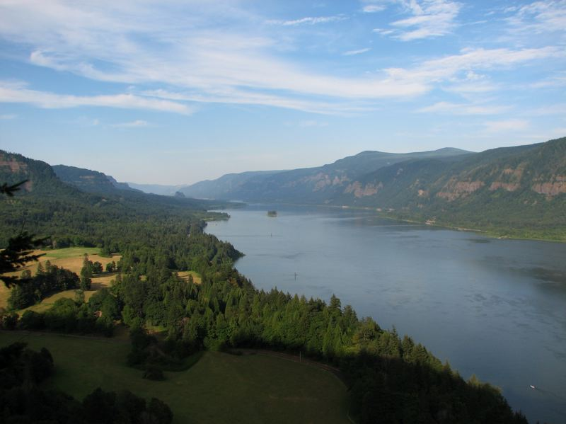 COURTESY PHOTO: JOHN RUSSELL FOR WIKIMEDIA COMMONS - Dream about getting back to the Columbia River Gorge by writing a haiku.