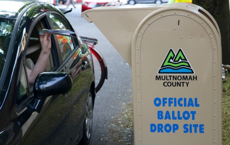 PMG FILE PHOTO - Voters pamphlets are on their way to homes for the May primary election.