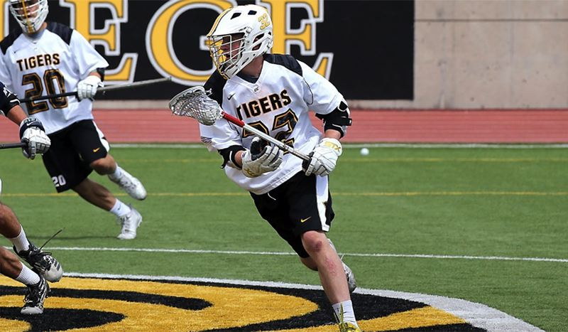 COURTESY PHOTO: COLORADO COLLEGE - Lake Oswego graduate Jack O'Donnell had high hopes for his senior season at Colorado College, but a series of shoulder injuries and the novel coronavirus put an end to those plans.