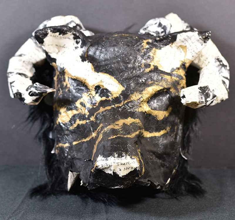 COURTESY PHOTO: CESD - 'Wolf in Sheep's Clothing' is by Jay Farr of the Arts and Technology High School in Wilsonville.