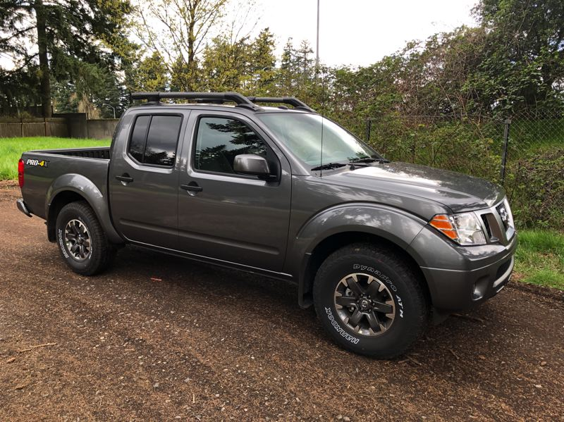 PMG PHOTO: JEFF ZURSCHMEIDE - The 2020 Nissan Frontier is an old-school midsize pickup with the most powerful standard engine on the market and available four-wheel-drive.