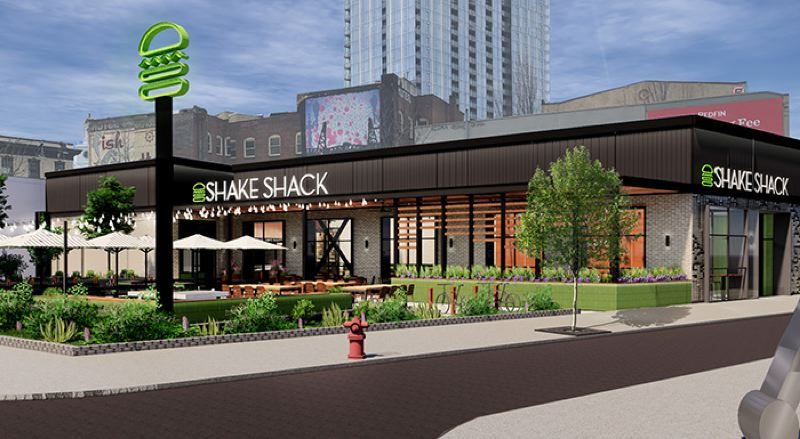 COURTESY: ARIA GROUP  - Fast food Shake Shack is coming to Portland.