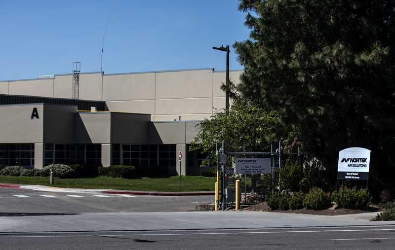 PMG PHOTO: JONATHAN HOUSE - Nortek Air Solutions in Tualatin was named in two complaints filed with Oregon OSHA. The state agency has received thousands of complaints related to COVID-19 concerns.