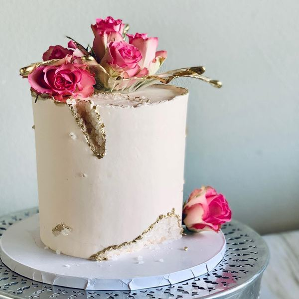 COURTESY PHOTO - Berg makes custom cakes and baked goods from her house.