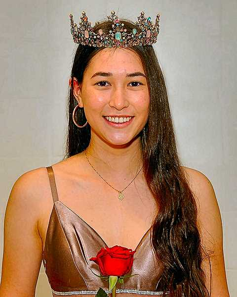 VERN UYETAKE - This years Portland Rose Festival Princess for Central Catholic High School, named in March, turns out to be a Woodstock resident - Melyssa Okazaki.