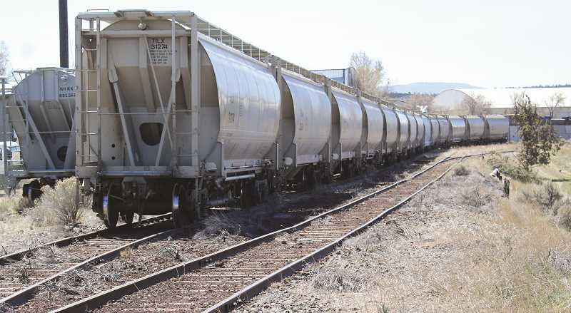 JASON CHANEY - Railcar storage has picked up considerably since the COVID-19 outbreak and has provided a steady source of revenue for the City of Prineville Railway. The railcars are stored on abandoned rail lines.