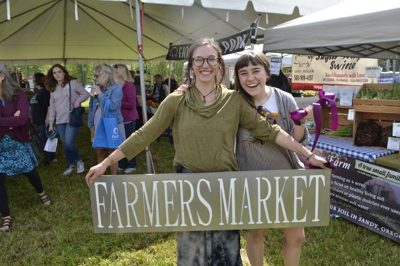 PMG FILE PHOTO: BRITTANY ALLEN - The Mount Hood Farmers Market is taking on a virtual format in the name of public health.