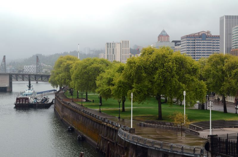 PMG PHOTO: BRIAN LIBBY - Tom McCall Waterfront Park as it appears today.