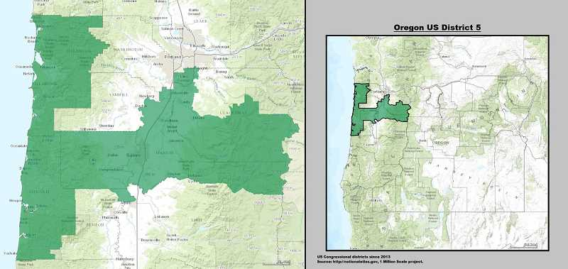 Oregon's Fifth District