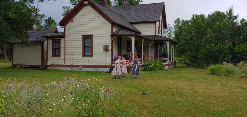 COURTESY PHOTO - Philip Foster Farm in Eagle Creek, which connects participants of all ages with pioneer experiences, is one of the locations that will benefit from the upcoming 'Takeout for History' program.
