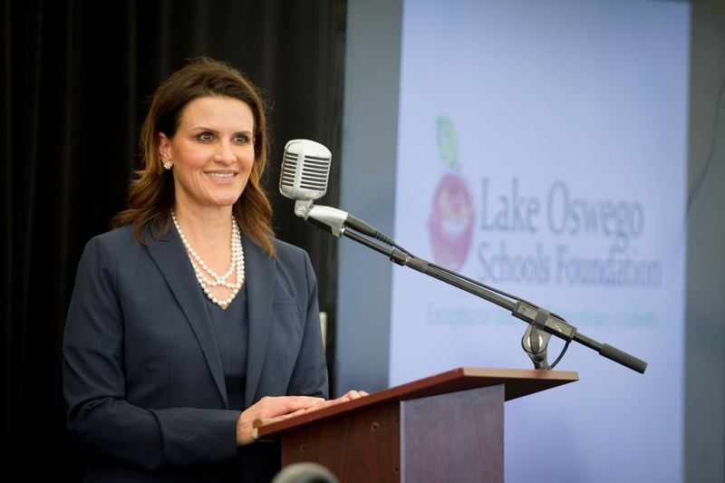 PMG FILE PHOTO  - Dr. Lora de la Cruz took over as superintendent in the summer of 2019. , Lake Oswego Review - Education Lake Oswego School District takes steps to be a more inclusive, diverse place in 2019