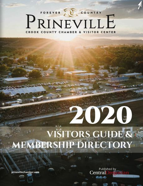 (Image is Clickable Link) Prineville - Crook County Chamber Guide 2020