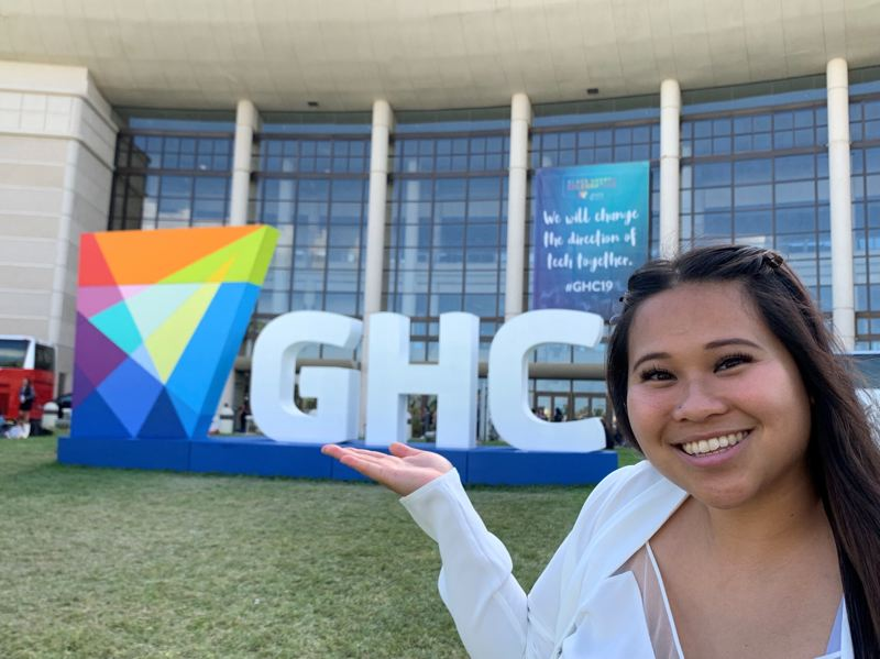 COURTESY: PDXWIT - Sharlena Luyen, founder of a nonprofit dedicated to helping local communities develop through technology, received the #InvestingInYou scholarship to attend the Grace Hopper Celebration of Women in Computing in Orlando, FL. The scholarships are now for online events and the application deadline is May 4 at11.59pm.