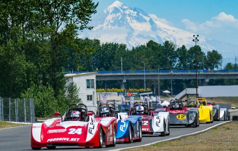 DOUG BERGER - A Rose Cup Race at Portland International Raceway.
