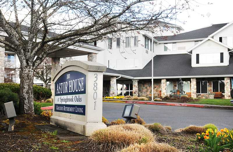 GRAPHIC FILE PHOTO - A seventh resident of Astor House at Springbrook Oaks in Newberg has succumbed to the coronavirus, a county health official announced last week.