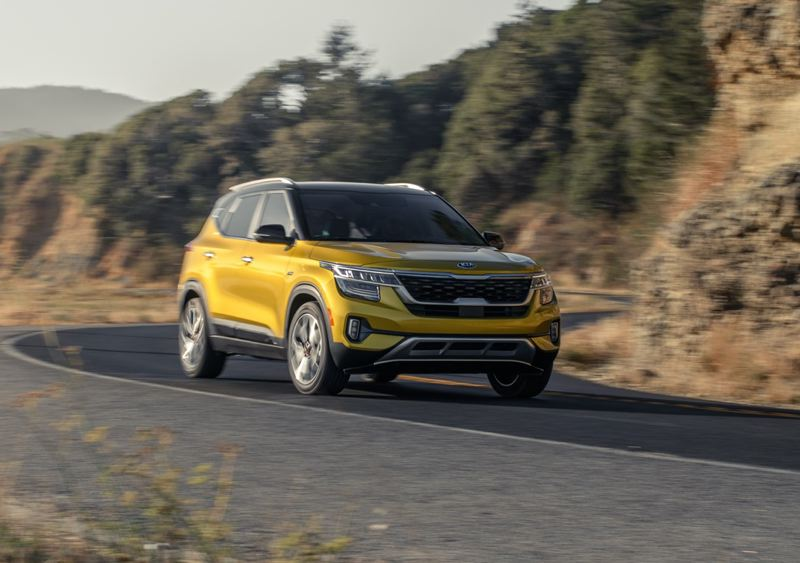 COURTESY KIA MOTORS AMERICA - The 2021 Kia Seltos is a stylish small crossover that can be comes in a variety of trim levels to meet every need.