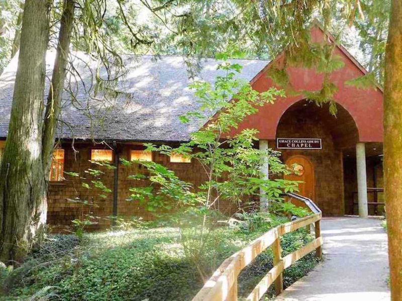 PMG FILE PHOTO - The Alton L. Collins Retreat Center in Eagle Creek is acting as a shelter for coronavirus patients in Clackamas County who do not have the space to safely self-quarantine.