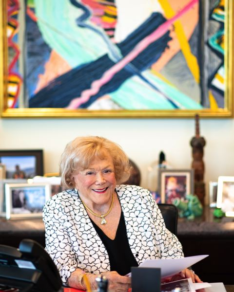 Arlene Director Schnitzer, businesswoman, philanthropist, and civic leader passed away Saturday, April 4th, 2020 in Portland Oregon at age 91.
