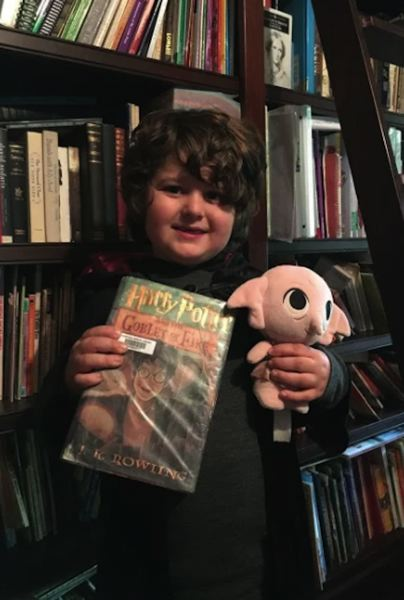 "COURTESY PHOTO - A River Mill Elementary School student celebrates the ""Harry Potter"" series for book day in the school's ABC countdown."