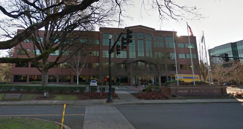 VIA KOIN - The Aequitas office building is shown here.