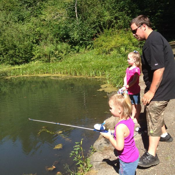 PMG FILE PHOTO - Families will tentatively be able to fish at Small Fry Lake again later this month.