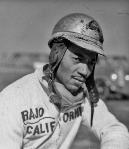 CONTRIBUTED - Portland racer An early photo of Rajo Jack.