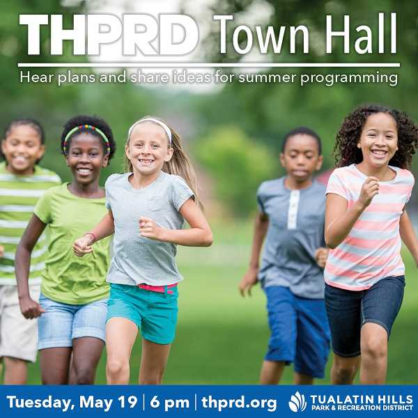 COURTESY THPRD - Tualatin Hills Park & Recreation District is planning to begin summer programing in July.