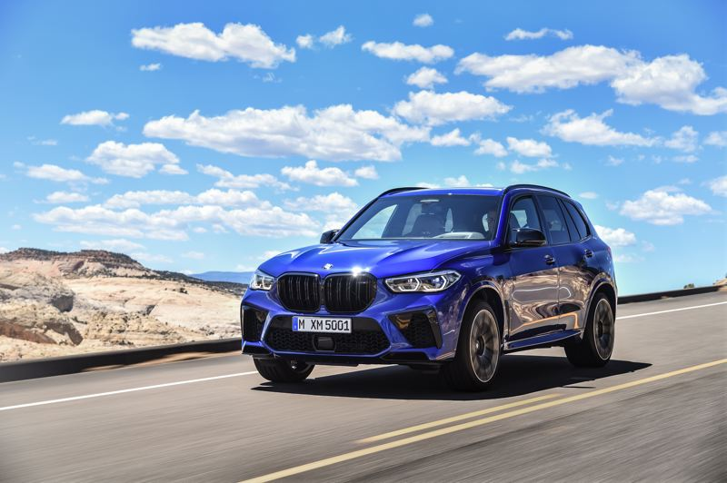 COURTESY BMW USA - The 2020 BMW X5 M Competition is a great looking midsize SUV that drives and handles better than all but the most expensive sports cars.