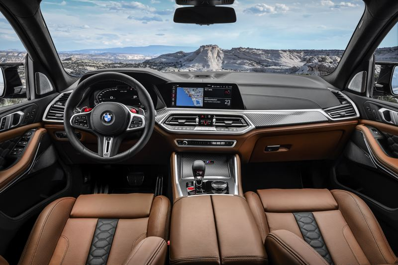 COURTESY BMW USA - The interior is all luxury with every available advanced automotive technology on the planet.