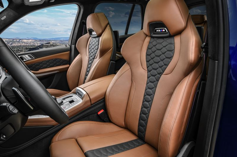 COURTESY BMW USA - The deep bolstering on the front bucket seats are absolutely necessary during fast cornering.