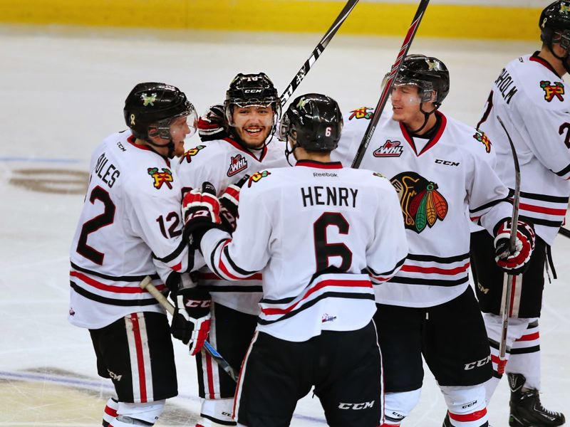COURTESY THE OREGONIAN - The company that owns the Portland Winterhawks, shown here in the 2015 playoffs, has filed for bankruptcy.