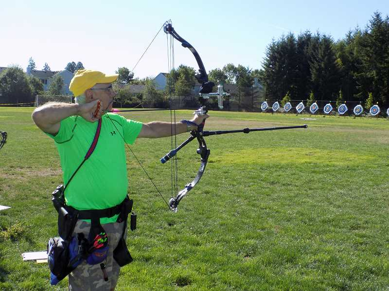 PMG FILE PHOTO - The annual archery contest between Sherwood and Nottingham, England, has been cancelled along with the entire Robin Hood Festival
