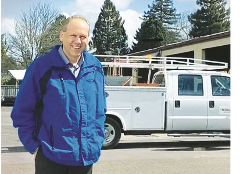 PHOTO COURTESY OF CITY OF NEWBERG - Longtime Newberg Public Works Director Jay Harris left the employ of the city of Newberg in early April to take a similar post in Shelton, Washington, a town of about 10,000 residents northwest of Olympia.