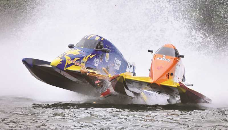 NEWBERG GRAPHIC FILE PHOTO - The Willamette River will remain quiet at the end of the month as the annual Memorial Weekend Boat Races have been canceled.