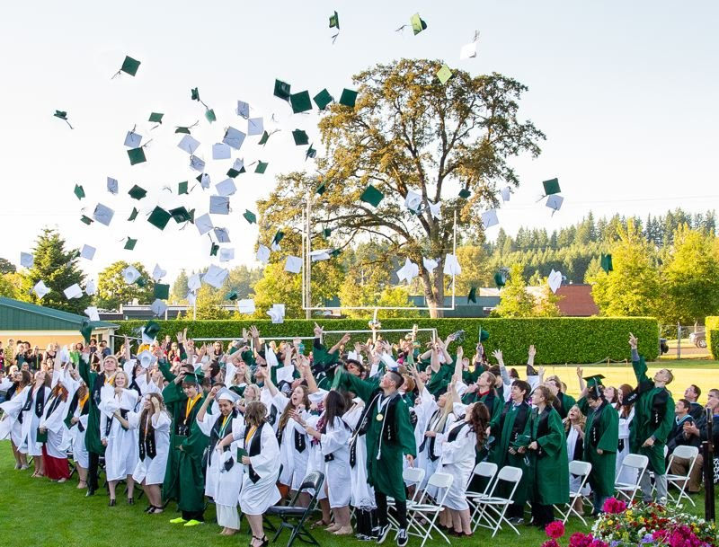 COURTESY PHOTO: ESTACADA SCHOOL DISTRICT - Estacada High School's class of 2020 will have an in-person graduation ceremony, but many elements will look different because of the COVID-19 crisis.