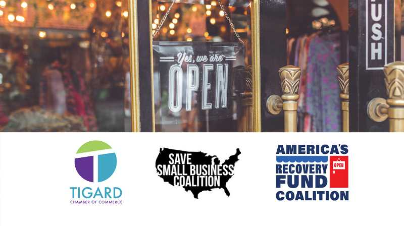 COURTESY PHOTO: TIGARD CHAMBER OF COMMERCE - America's Recovery Fund Coalition is asking Congress for assistance to help businesses recover from the COVID-19 crisis.