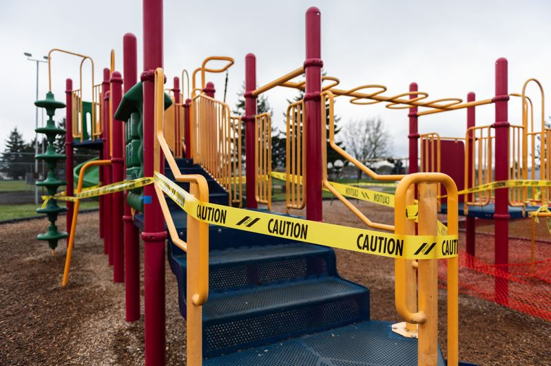 PMG FILE PHOTO - Local parks and outdoor recreation areas have been closed since late March when Gov. Kate Brown issued her stay-home order.