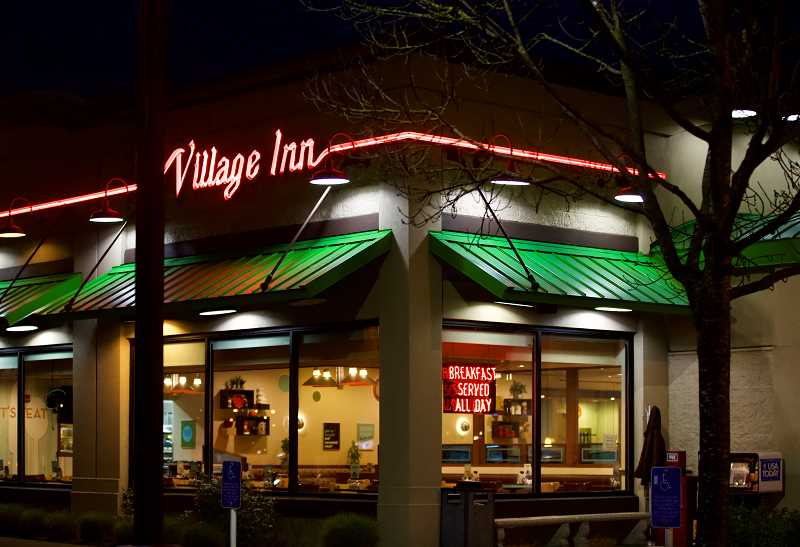PMG PHOTO: JAIME VALDEZ - Tualatins Village Inn had proved resilent over the years, surviving a move in 2004 and tentative plans to be demolished for needed Southwest Corridor Light Rail Project land. However, the restaurant recently announced it will shut down for good.