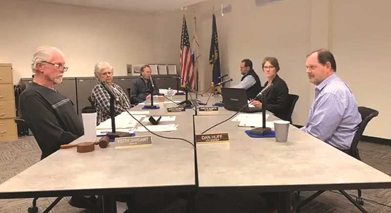 FILE PHOTO - In a short meeting last Wednesday, the Molalla City Council did spend time talking about what the city opening for business may entail.